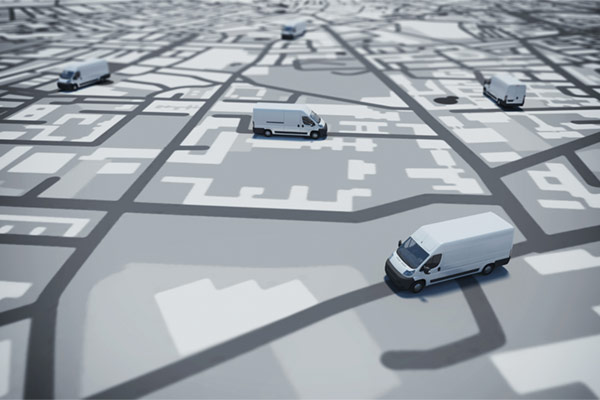 Leaflet delivery with GPS tracking