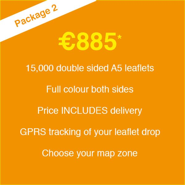 Leaflet Print & Delivery - Package #02