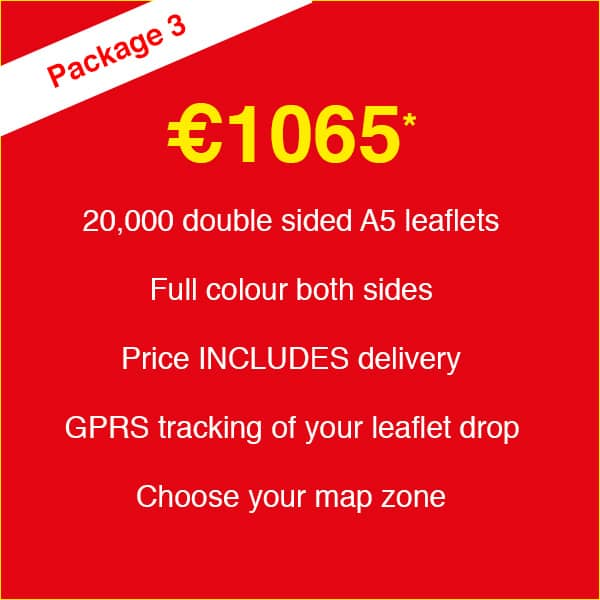 Leaflet Print & Delivery - Package #03